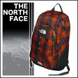 THE NORTH FACE VAULT(ヴォルト) バックパック RED CLAY PLAID◆ザ・ノースフェイス