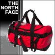 ノースフェイス ベースキャンプ ダッフルバッグ S 42L ボストンバッグ RED/BLACK 旅行バッグ スポーツバッグ
