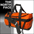 THE NORTH FACE ベースキャンプ ダッフル S ZEST ORANGE◆ザ・ノースフェイス
