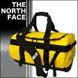 ノースフェイス ベースキャンプ ダッフルバッグ S 42L ボストンバッグ 旅行バッグ スポーツバッグ YELLOW/BLACK