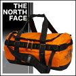 THE NORTH FACE ベースキャンプ ダッフル S O.ORANGE/T.BLK◆ザ・ノースフェイス BC DUFFEL