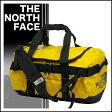 ノースフェイス ベースキャンプ ダッフルバッグ S 42L ボストンバッグ S.GOLD/T.BLACK 旅行バッグ スポーツバッグ