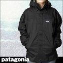 2010【期間限定24%OFF!!】ウェアPATAGONIA◆パタゴニア 84997 メンズ・ストームジャケット Black w/Narwhal Grey
