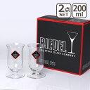 リーデル ヴィノム シリーズ シングル・モルト・ウィスキー 6416 / 80≪ペアグラス≫ ウィスキーにピッタリ♪RIEDEL ワイングラス