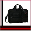 26141 TUMI (トゥミ) ALPHA series ★ expander bulldog organizer computer briefs black [※ Hokkaido, Okinawa costs 525 yen separately.] [strong yen reduction] [SMTB] [YDKG strong yen reduction brand]