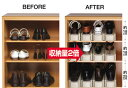下駄箱内の靴収納に最適なくつホルダー2個組