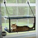 キャットベッド K H イージーマウント ベッドダブル KH9092(kitty sill Double Stack EZ window mount 窓取付け 猫の遊び場 ハンモック インスタ映え かわいい おしゃれ)
