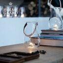 [キャンドルホルダー]HOLMEGAARD DESIGN WITH LIGHT Lantern Clear Sサイズ H16cm(デザイン ウィズ ライト ランタン クリア・キャンドルベース・テーブルランプ・北欧インテリア・おしゃれ・かっこいい・かわいい)ホルムガード
