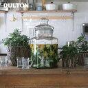 [ガラス容器]DULTON ビバレッジ ディスペンサー 5.8L M111-36(BEVERAGE DISPENSER・ガラスサーバー・GLASS SERVER・保存瓶・保存容..