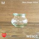 【ガラス容器】WECK デコ WE901 キャニスター 500ml(蓋無550ml)M(保存容器・調味料入れ・Schmuck・キャニスター)ウェック