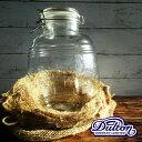 【保存容器】ダルトン エアータイトジャー 4.3L DF-1651(AIRTIGHTJAR・ガラスジャー・クッキージャー・ガラス容器・梅酒作り・おしゃれ)DULTONの写真