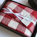 ショッピングバスタオル 今治タオル コンテックス ヴィンテージチェック ギフトセットImabari Towel Kontex Vintage Check GiftSetバスタオル 1枚ギフトラッピング無料 のし無料