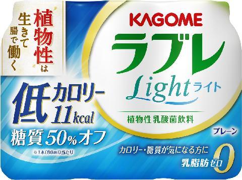 カゴメ 植物性乳酸菌ラブレ Light 80ml×3本×6パック