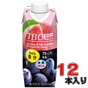 森永 TBC 鉄分+葉酸+ビタミンB12 プルーン&もも 330ml×12本