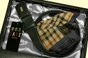 ダックス DAKS / ベルト ・ ハンカチ ギフトセット/ 黒 / 日本製