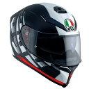 AGV(エージーブイ)フルフェイスヘルメットAGV K-5 S 014-DARKSTORM MATT BLACK/RED