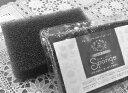 【黒のサンサンスポンジ 驚異の長持ち力!TVで話題の「へたらない」スポンジ!清潔エアーパック包装、モノトーンおしゃれモダンスタイリッシュなキッチンに!【DM便利用】【代引不可】【日時指定不可】〇日本製
