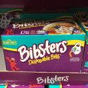 【生活雑貨】【コストコ】パンパース セサミストリート 使い捨てよだれかけ ビブスター 60枚入り BIBSTERS SESAME【Z】