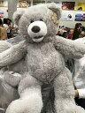 【生活雑貨】【コストコ】くま ぬいぐるみ 全長64cm PLUSH TEDDY BEAR 25インチ ビックベア テディベア 色:グレー or キャメル #コストコくま【Z】