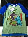 《送料無料》【即日発送】コストコ アウトレット #587121 タグ切れ ディズニー モンスターズインク Tシャツ 2枚セット サイズ:6 子供用 男の子 889560245683【Z】