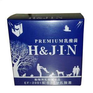 【PET】【ポイント10倍】EF-2001 配合BRM免疫乳酸菌 JIN (動物用乳酸菌食品)【猫犬用】 1箱(30包入)【KMT】