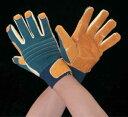 エスコ ESCO [LL] 耐切創手袋(ケブラー・革付) EA354EB-23 [I260109]