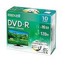 マクセル maxell 録画用 DVD-R [34014] DRD120WPE.10S [F040218]