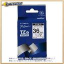 ブラザー ピータッチテープ36mm透明/黒 [9883] TZE-161 [F011408]