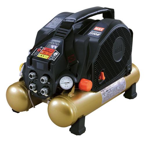 マックスAK-HL1110E(BG)エアコンプレッサ限定色ブラックゴールド