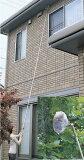 軒下・高い窓・吹き抜けにクモの巣取り4.7m シート3枚付