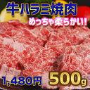 牛柔らかハラミ焼肉 500g【250g×2】バーベキュー用 美味しい 焼肉 ハラミ 訳あり お徳用 お弁当 おかずに ホットプレート で焼肉 お中元 の1品に。