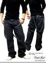 デニム メンズ ジーンズ パンツ ワイド ジーパン サスペンダー 付き バギーパンツ【RCP】 10P27Jan14