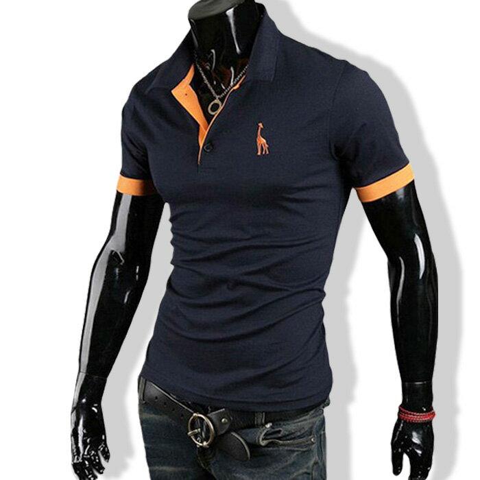 3日間限定 全品10%OFF&ポイント2倍 ポロシャツ メンズ tシャツ カットソー 半袖 胸刺繍 ゴルフウェア トップス カジュアル コーデ