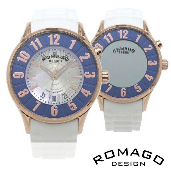 腕時計 メンズ 正規品 ROMAGO ロマゴ ミラー文字盤 RM068-0053PL-RGBU メンズ腕時計 腕時計 メンズ 正規品 ROMAGO ロマゴ ミラー文字盤 RM068-0053PL-RGBU メンズ腕時計 【送料無料】  0601カード分割カシオ 腕時計 電波