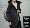 サイズ・カラー選べる 2点セット コート メンズ アウター 中綿 ジップアップ フード付き シンプル カジュアル 無地 キレイめ 通勤 通学 メンズファッション ジャケット 紳士服
