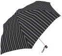 折り畳み傘 メンズ 傘 大きめ 60cm ビッグサイズ 雨晴兼用 日傘 雨傘 折畳み傘 マニッシュストライプ SVコーティング UV対策 フ...