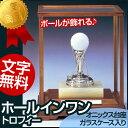 ボールが飾れる♪ゴルフコンペ記念品・ホールインワントロフィー(高さ240mm)G2【文字彫刻無料】【送料無料】[F/G1]