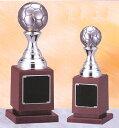 トロフィー:サッカーボール型ブロンズトロフィー(高さ230mm)VF4335-A【30%OFF】[W/72]