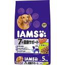 ショッピング犬用 アイムス (IAMS) シニア犬用(7歳以上) 健康サポートチキン 小粒 5kg [ドッグフード]