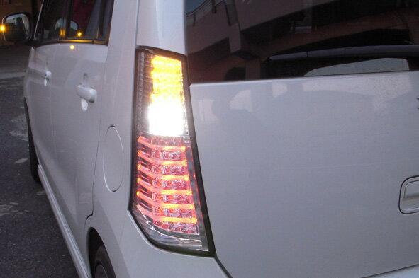 【ワゴンR LEDテール】 MH23S ワゴンR チューブフルLEDテール CLEAR WORLD/クリアワールド 全3色【02P03Sep16】