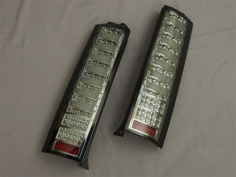 【送料無料】【エブリィ LEDテール】DA64V/DA64W エブリィ シャークチューブテール フルLED オール...