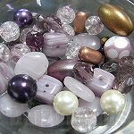 優惠的價格! Checo 地方串珠組合紫水晶色 6-20 毫米 (約 30 g)