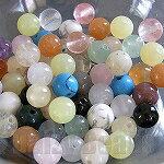 [¥ 500 硬幣他們] [天然石圓混合 6 毫米] 大約 20.05 g (大約 60 天) [石,天然石材和珠、 寶石珠串珠的語氣電源-罷工-y 電源-罷工-吳] [532P17Sep16]