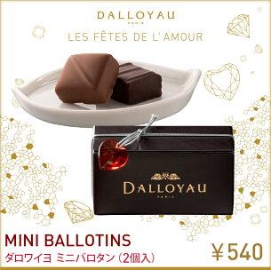 ダロワイヨ バレンタイン マカロン チョコレート バロタン