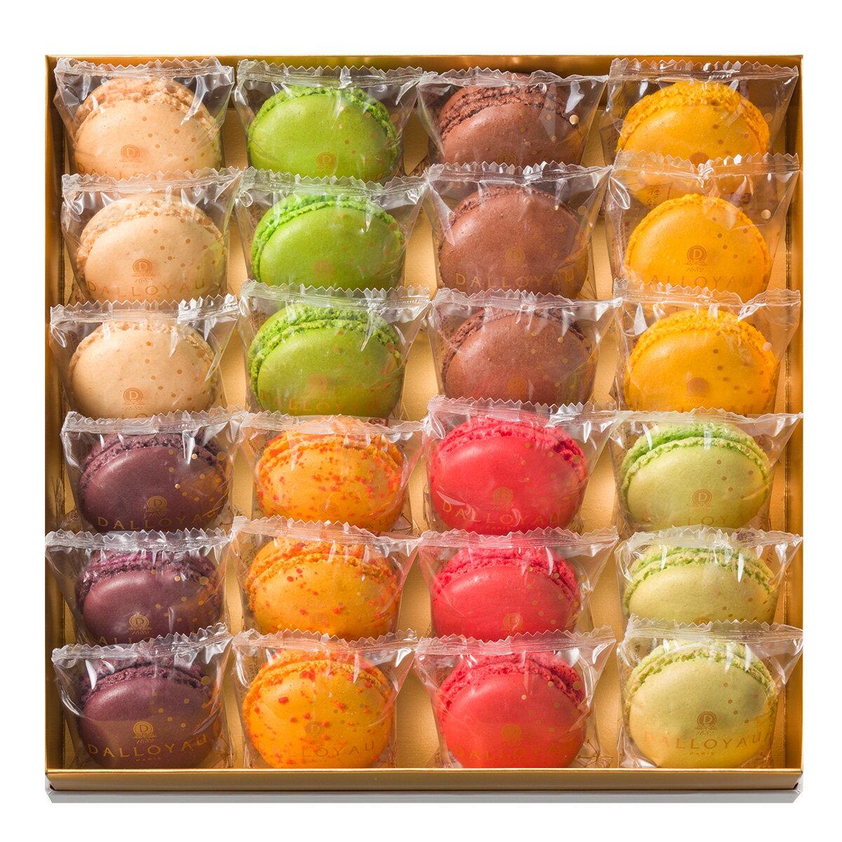 ダロワイヨハロウィンギフトお返し贈り物御祝御礼マカロン季節のマカロン(24個入)スイーツ洋菓子内祝快