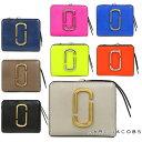 マークジェイコブス 財布 MARC JACOBS 二つ折り財布 レディース 二つ折りコンパクト財布 バイカラー Snapshot Mini Compact Wallet (全8色)【M0014282】【M0013360】【M0014518】