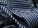 ★イタリアシャツ DANROMA ドゥエボットーニ ESCLUSIVE NAMUR DA_CELESTE_BLU A RIGHE CELESTE e BLU