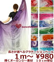 ベリーダンス衣装 10cm 98円〜 長さも幅も自由に選べるグラデーションベール df68※要2〜3営業日