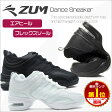 ダンス スニーカー ダンススニーカー ダンスシューズ 白 黒 ジャズシューズ レディース メンズ キッズ 女性用 男性用 ヒップホップ ラテン ジャズダンス チアリーディング ズンバ フィットネス シューズ ブラック ホワイト ZUM(スム) ZDS118