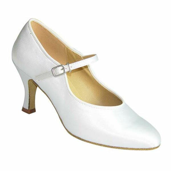 ダンスシューズ・社交ダンスシューズ・レディース【セミオーダー】女性モダンシューズ・白ホワイト680301セミオーダー品ですのであなたにぴったりの1足がつくれますよ♪